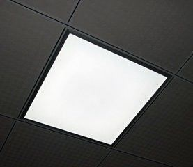 Office Indoor LED Flat Panel Light Ceiling Recessed Suspended 62x62 LED Panel