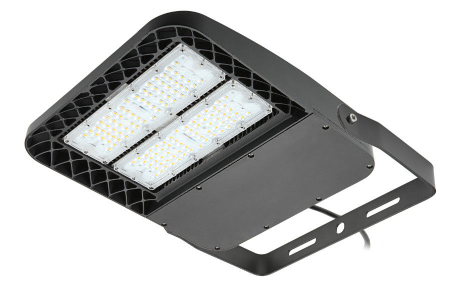 Square Exterior Area Lighting 100W 130LPW Efficiency Meanwell / Sosen Driver
